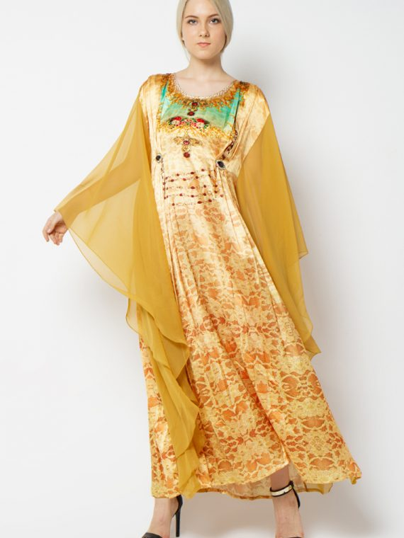 zariya-pleated-kaftan-6032gldbge-3950-1