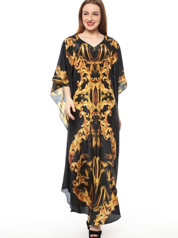 6404BLKYLW_4 BURNING DESIRE COLLIN KAFTAN _4