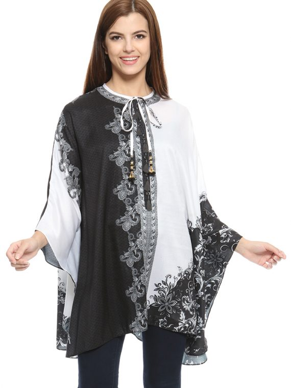 6465BLKWHT_1 THE YIN TO MY YANG JT BLOUSE_1