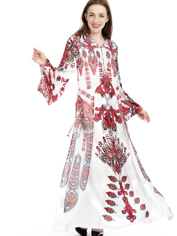 6472IVRRED_6 WINGS OF GRACE GOWN W JACKET_6