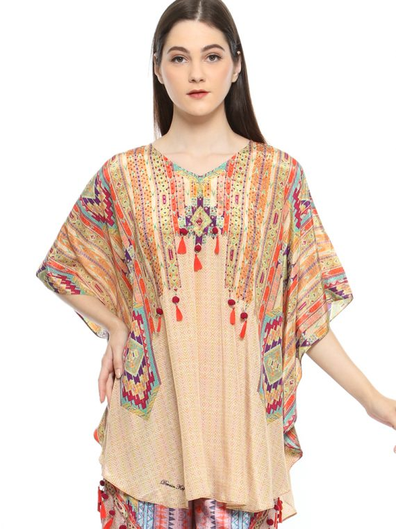 6484GLDMUL_5 ABSOLUT IKAT U-BLOUSE_5